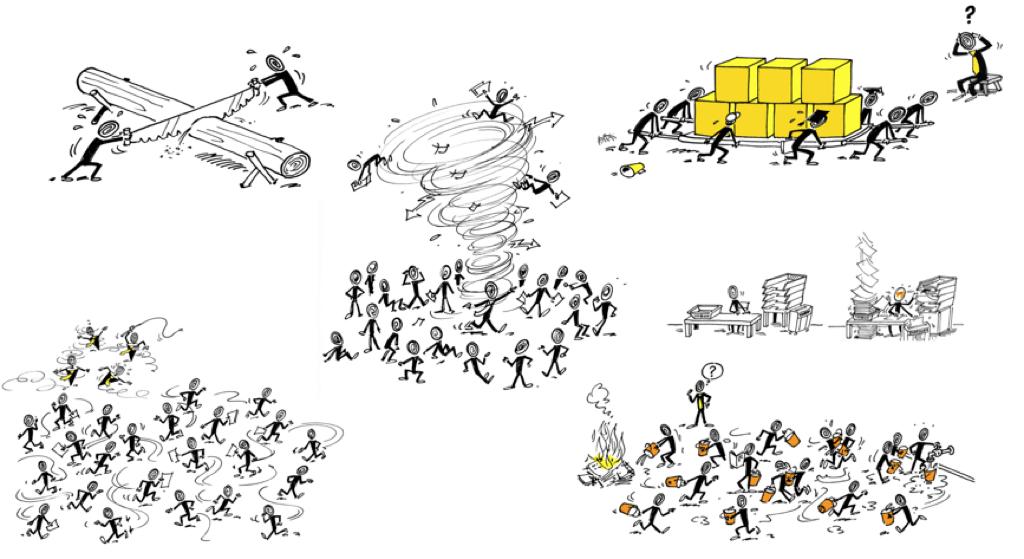 """Wenn das """"Normal"""" ist besteht akuter Bedarf mit 2ease die Unternehmenskultur zu verändern. 2ease bietet Konzepten, Methoden und einfache Mitteln das """"Normal"""" des Unternehmensalltags in Richtung """"Mehr Wert"""" zu verändern – in menschlicher und wirtschaftlicher Hinsicht."""