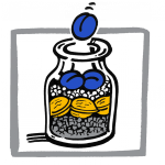 Logo_Glas Zeitmanagement - Selbstorganisaton tag