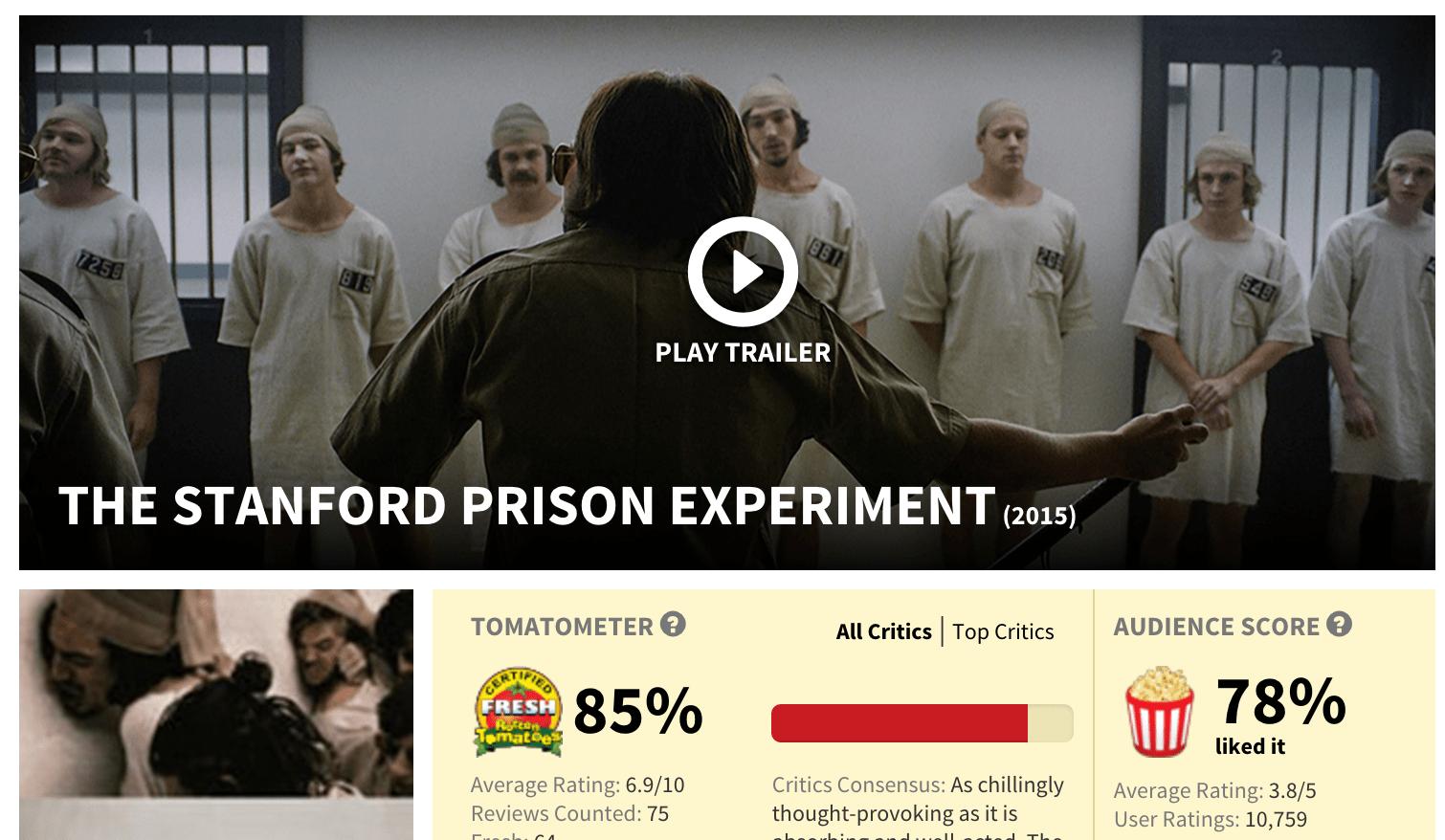 Trailor Stanford Prison English