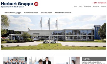 Herbert Gruppe Website