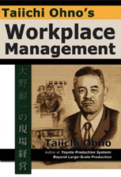 Taiichi Ohno Buch der gesammelten Lean Methoden.
