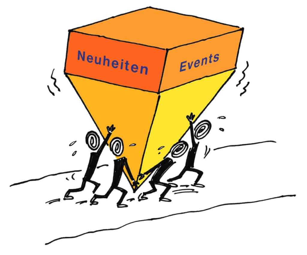 Neuheiten Events
