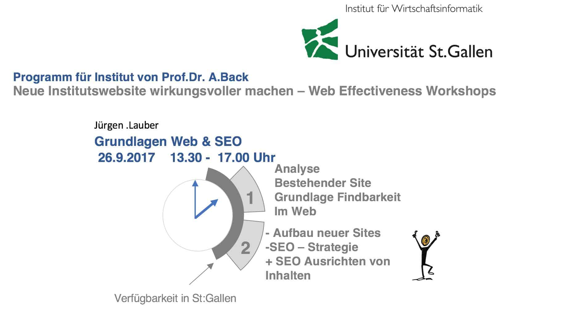 Programm SEO Website relaunch