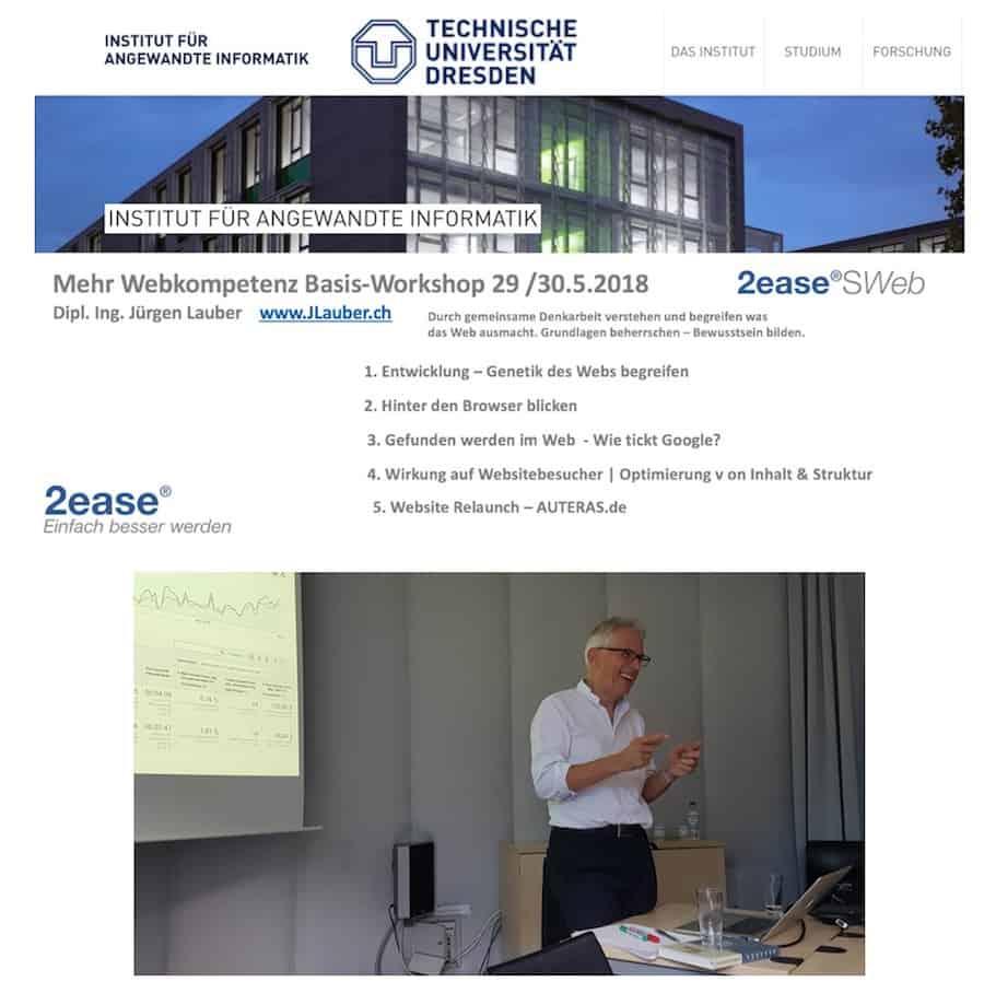 Webkompetenz Seminar Uni Dresden Information 2018 Lauber
