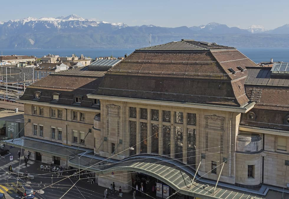 Hotel-Continental-Lausanne-SBB CFF Kaizen Lauber