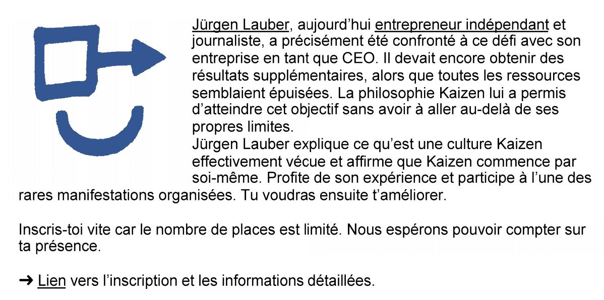 SBB Kaizen Infra Update Lausanne 09-2018