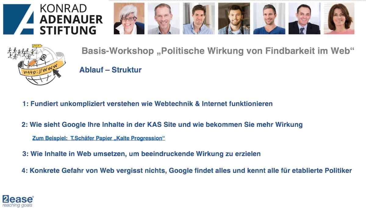 KAS digitalkompetenz Seminar Berlin januar 2019 Agenda