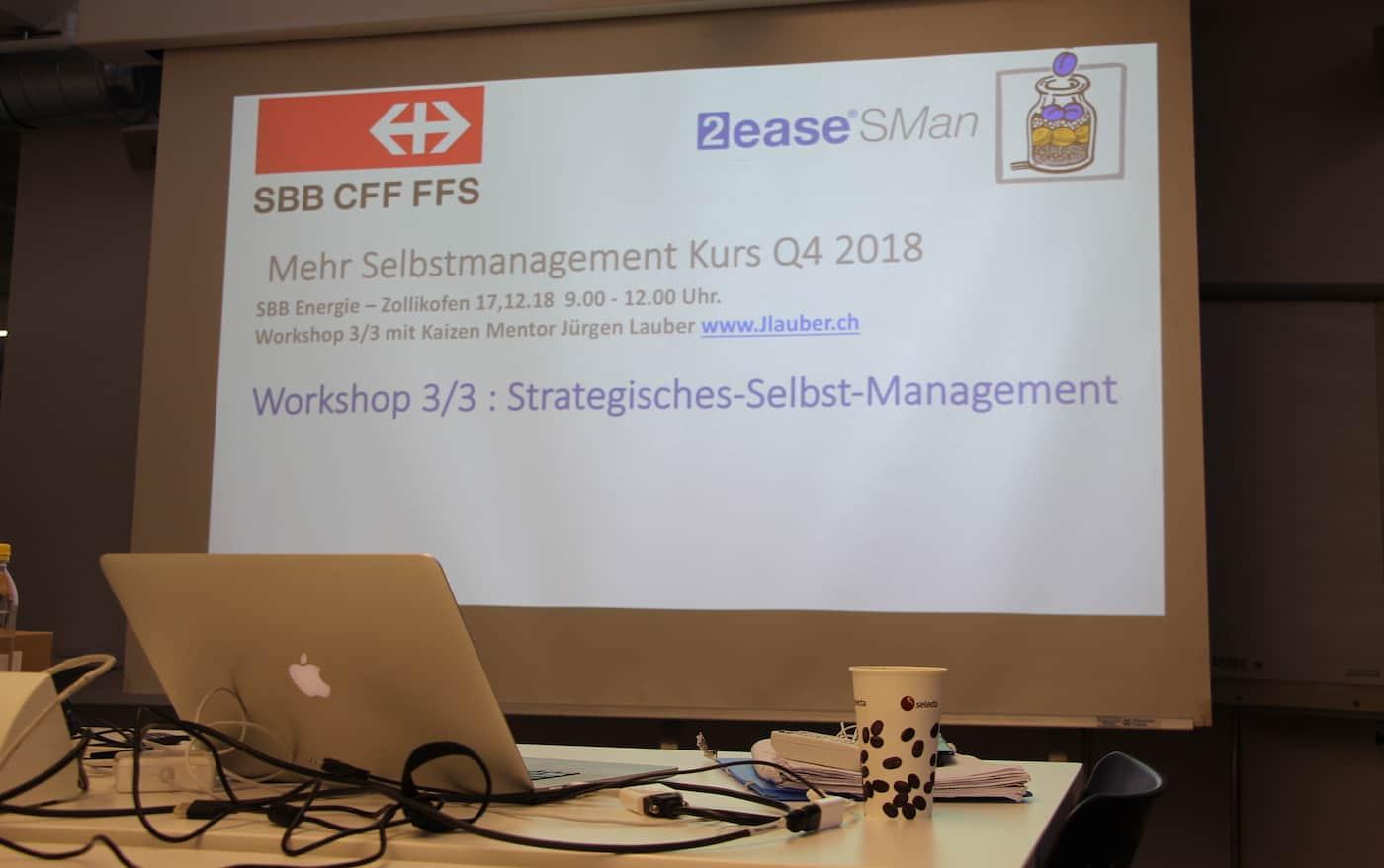 SBB Selbstmanagement Mentor Start Dezember 2018