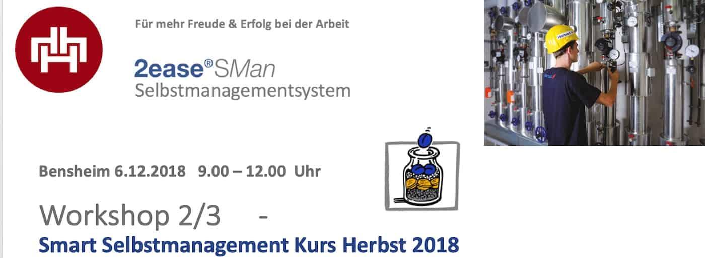 Herbert Smart Selbstamanagement Workshop 1218