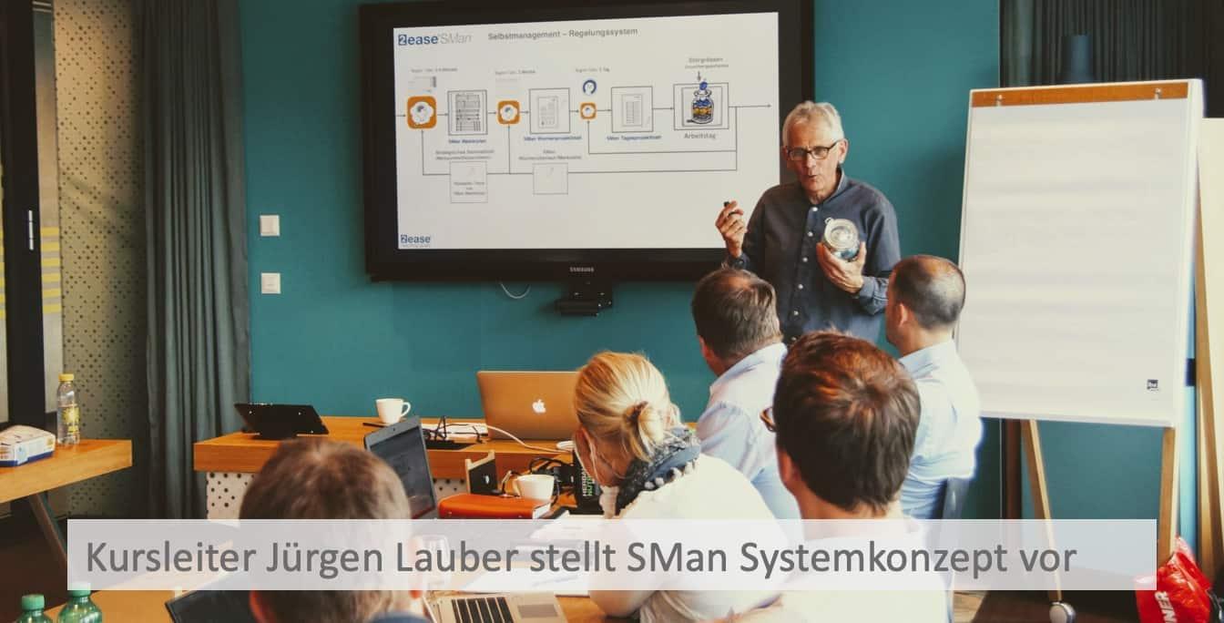 Selbstmanagement Kurs Leiter Jürgen Lauber Bern 01619