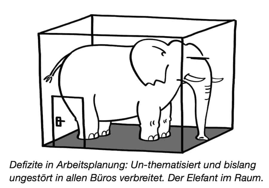Arbeitsplanung ist Elefant im Raum 0420