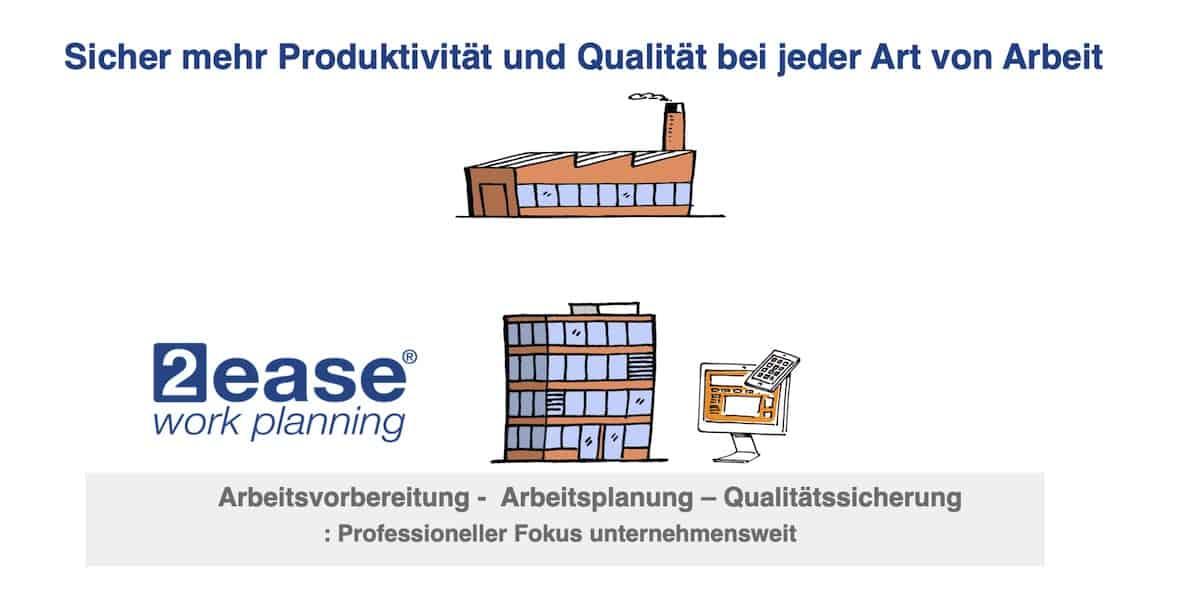 Arbeitsplanung und Arbeitsqualität sichern
