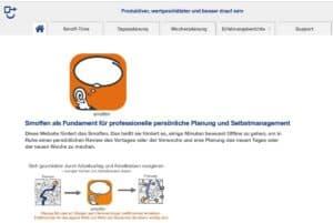 smoffen-Selbstmanagement Website